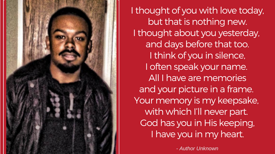 Lil Cee was loved by many and the Carter family invites you to share your fondest memory of him.  Please click the comment button below to add your favorite memory to the guestbook or to view what others have written.   Kindly keep your stories family-friendly :)