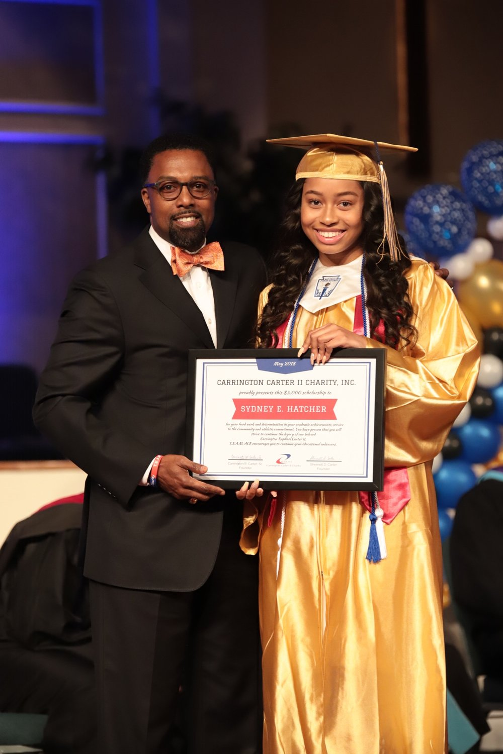 Ms. Sydney Hatcher  Ms. Sydney Hatcher earned a 4.1/5.0 GPA and participated in Girls Varsity Soccer for 4 years.