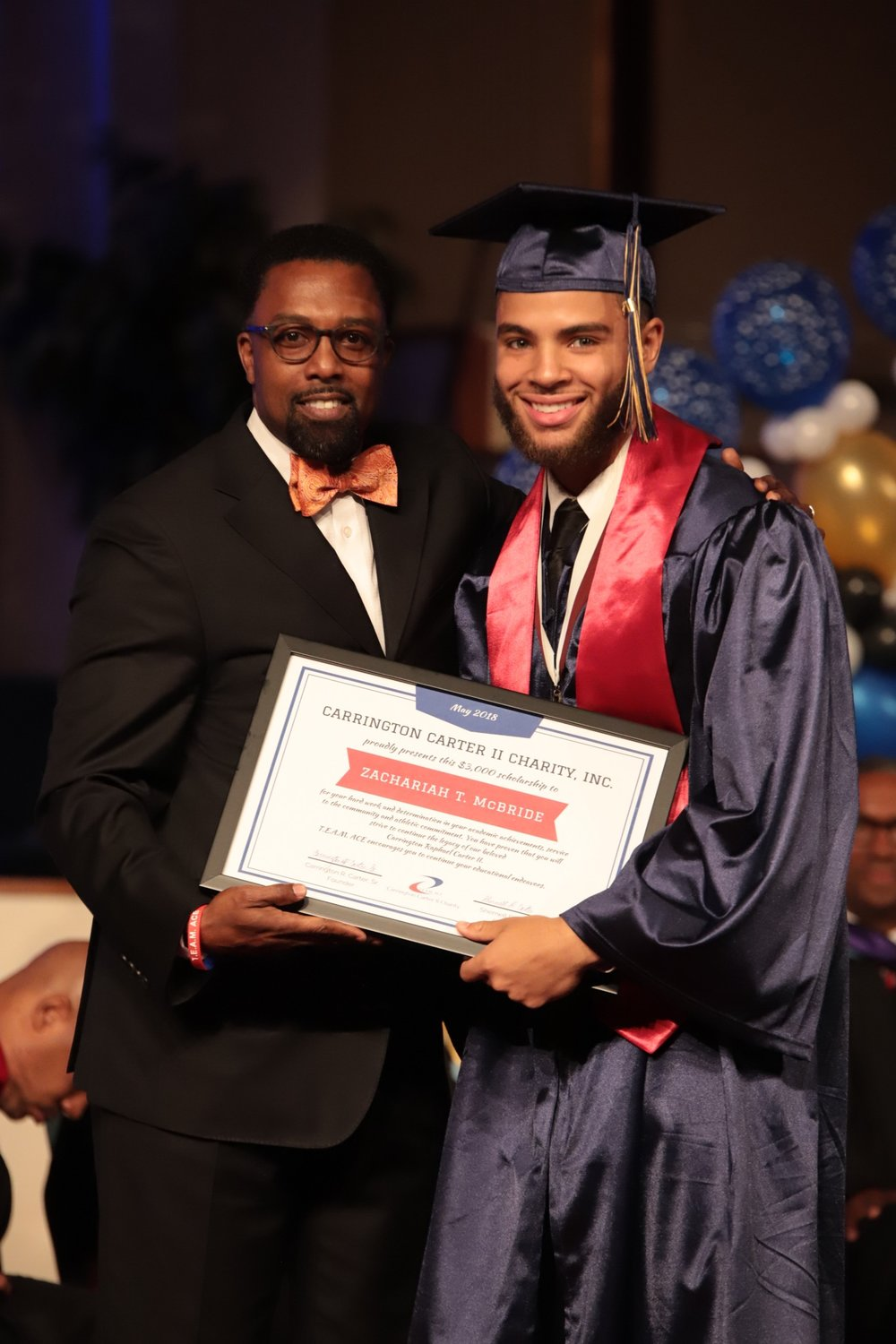 Mr. Zachariah McBride  Mr. Zachariah McBride earned a 4.42/5.0 GPA and participated in Varsity Football and Soccer teams for 4 years.