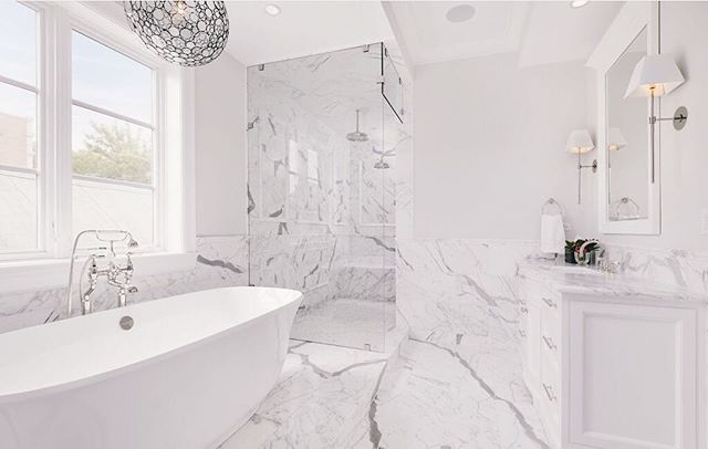 #throwbackthursday to this luxurious bathroom we worked on with #savaneproperties