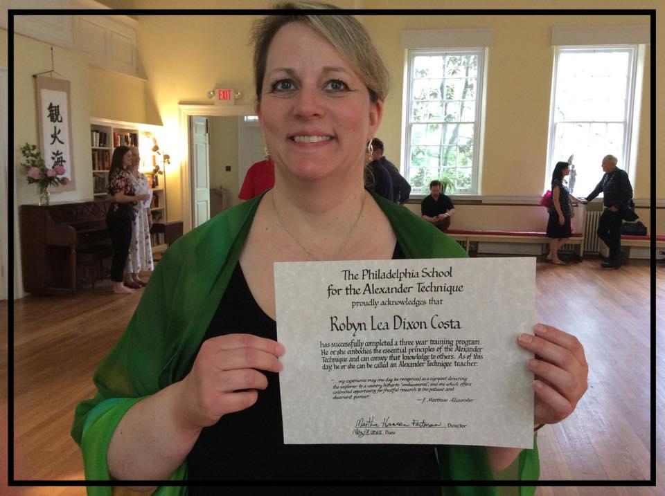 Robyn's ATI graduation