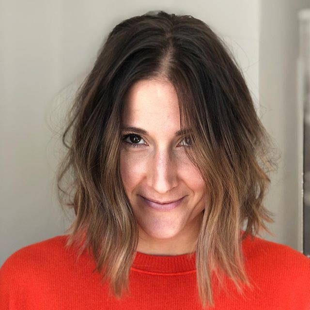 From Blonde 👉 Brunette 🥰  If anyone needs an appointment before The New Year, get on my schedule now as spaces are filling up 💗  #brunette #crueltyfreebeauty #balayage #roswellhairstylist #merakibabe #fallhair #caramelhighlights #maneinterest #balayagedandpainted #citiesbesthairartist #behindthechair #redken