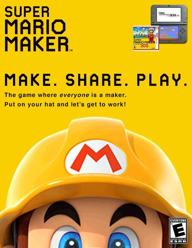 Super Mario Maker John Ferraro