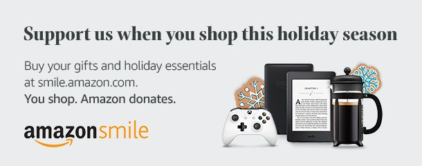 Amazon Smile - Shop for everyone on your gift list this holiday at http://smile.amazon.com/ch/48-0549385 and Amazon donates to Our Lady of Lourdes. #YouShopAmazonDonates