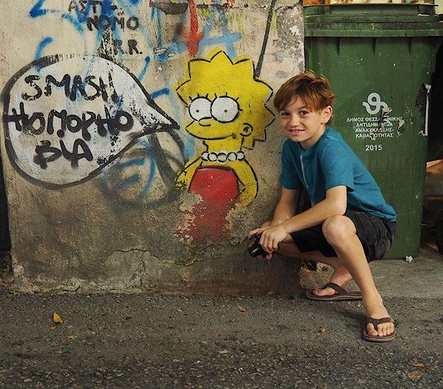 On a graffiti tour