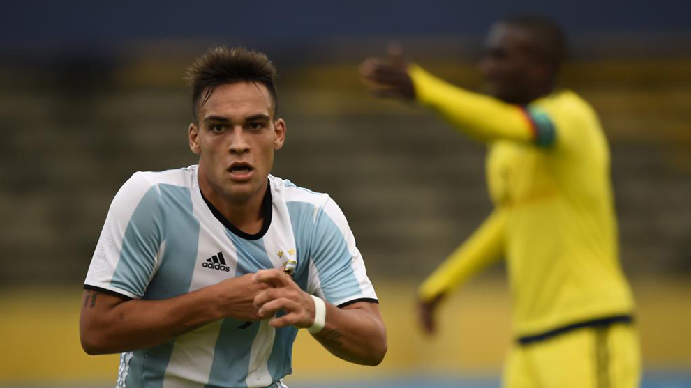 Inter Reached Verbal Agreement With Racing For Lautaro Martinez