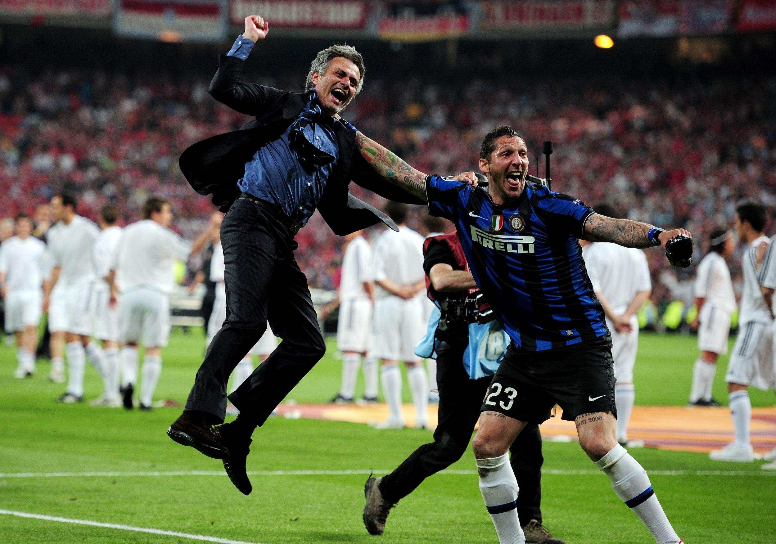 Image result for mourinho materazzi