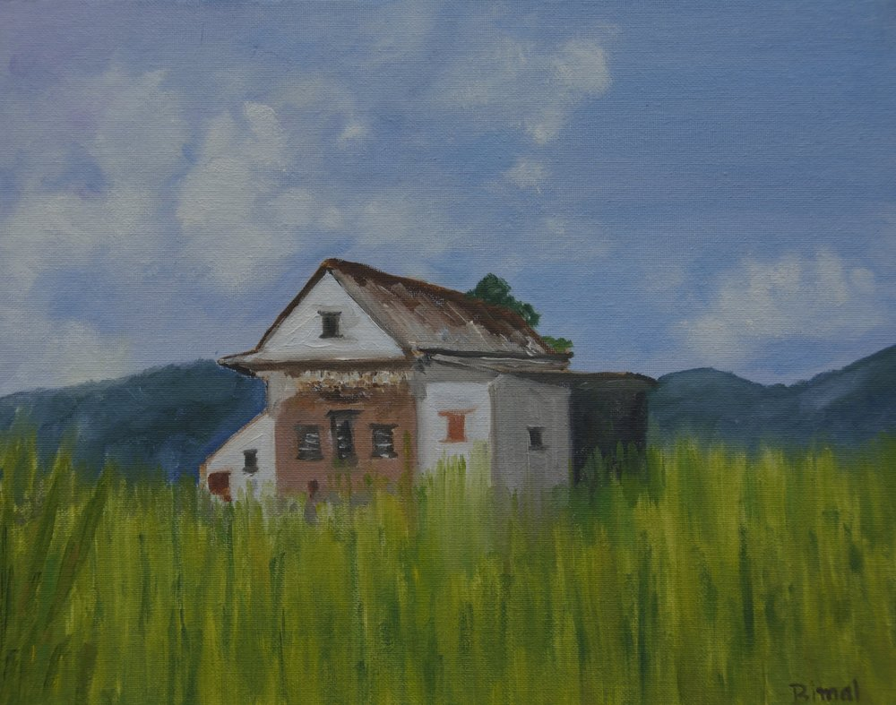 Home , Oil 11x14