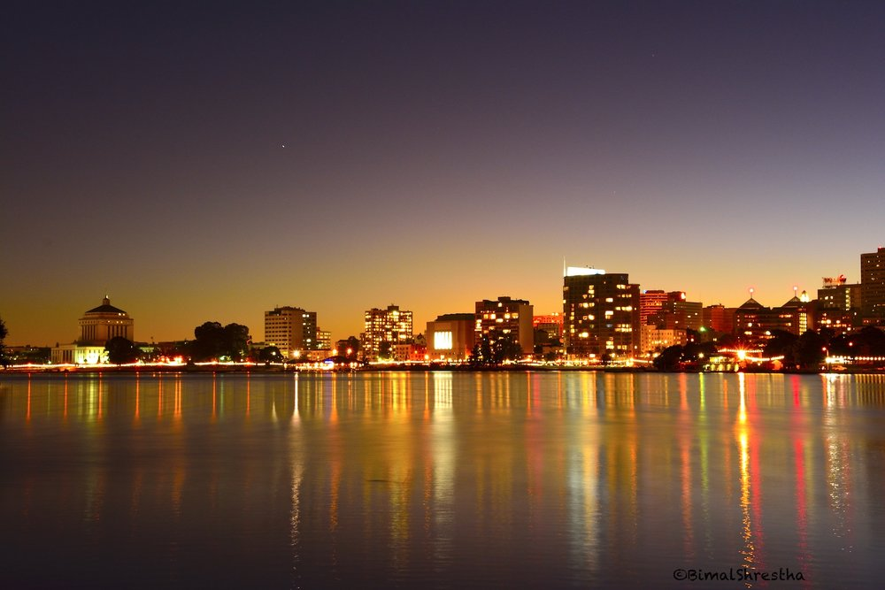 Lake Merritt Lights, Oakland CA