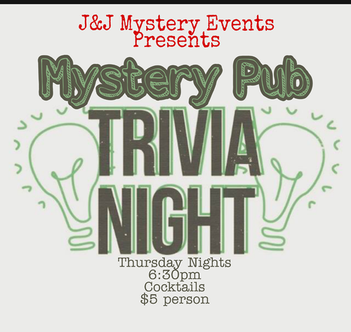 Upcoming Events — J&J Mystery Events