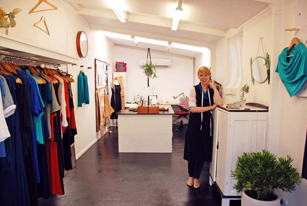 Studio visit and interview with Michelle Kent of So Stella for The Journey Person