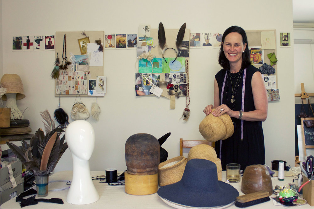 Studio visit and interview with Fiona Schofield for The Journey Person
