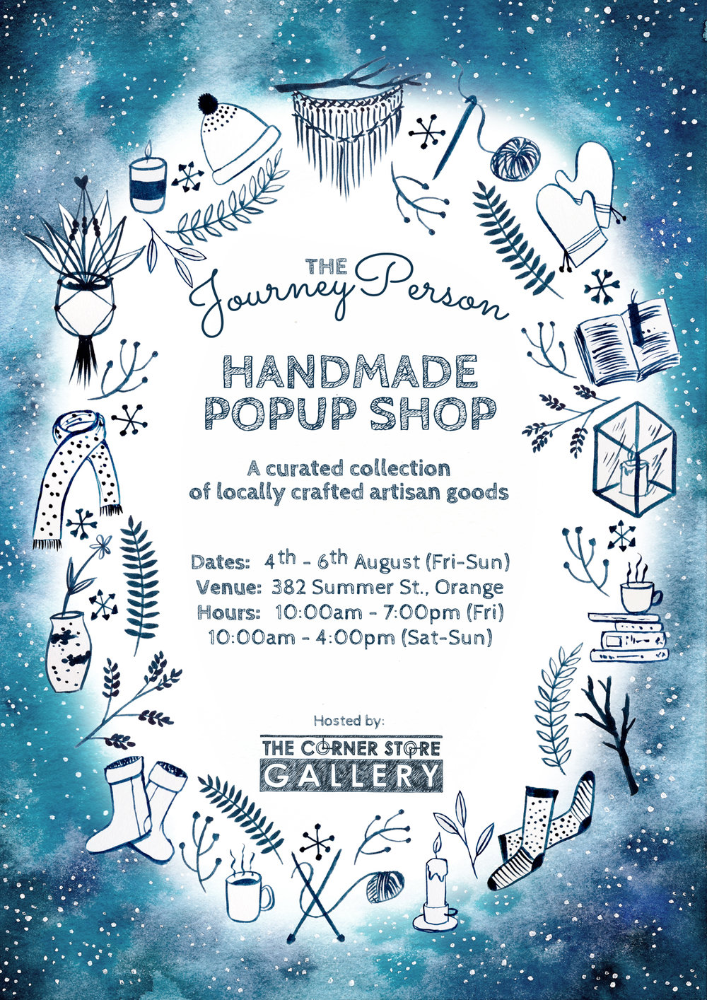 The Journey Person Winter Handmade Market