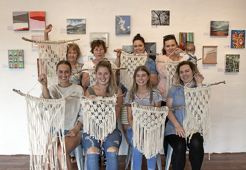 The Journey Person - Macrame Wall Hanging Workshop with Madeline Young