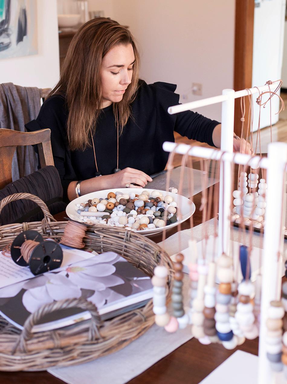 Jewellery designer Emily Burton of Peggy & Twig - The Journey Person