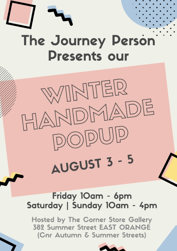 The Journey Person Handmade Popup