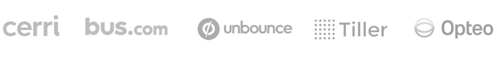 saas client logos