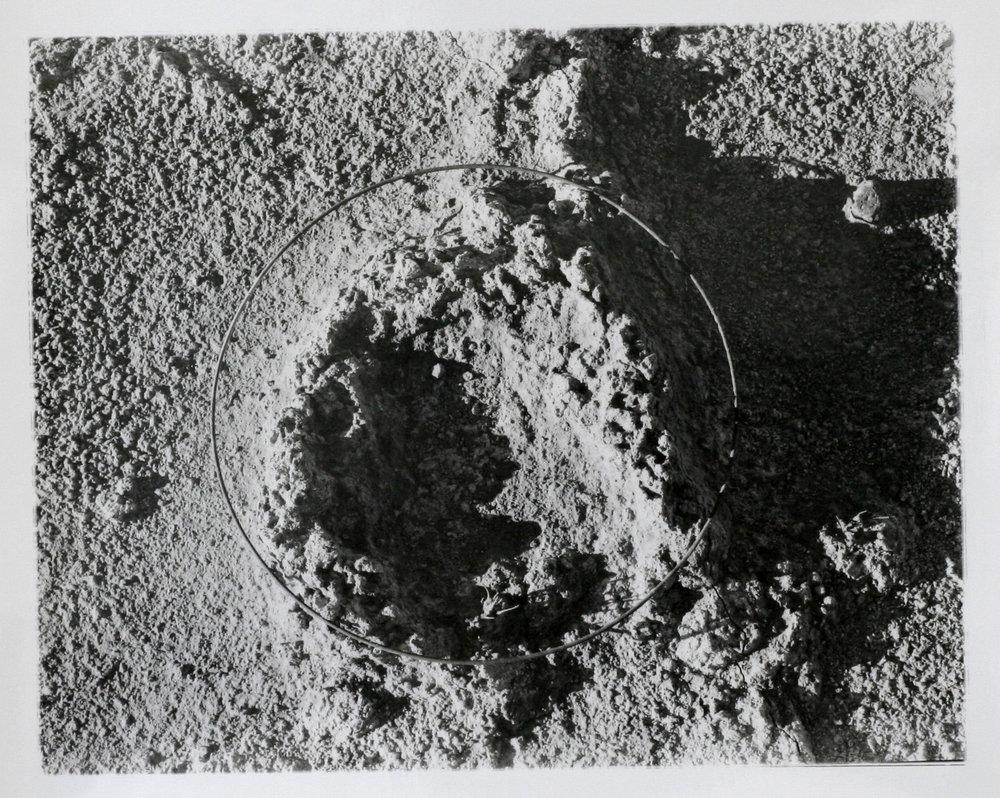 """Found object, 2017  silver gelatin print  8 x 10"""""""
