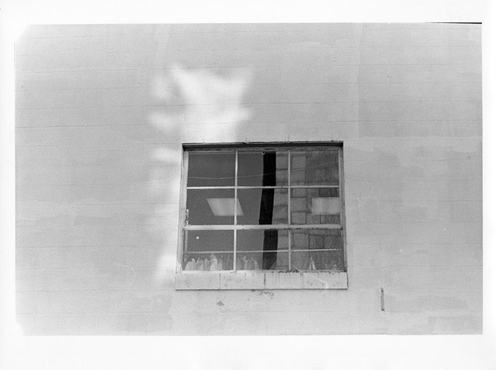 """Window (II), 2011  silver gelatin print  8 x 10"""""""