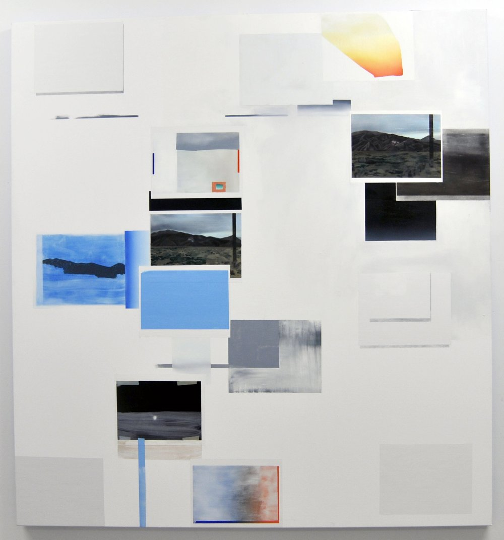 "Untitled, 2009  oil on canvas  58"" x 84"""