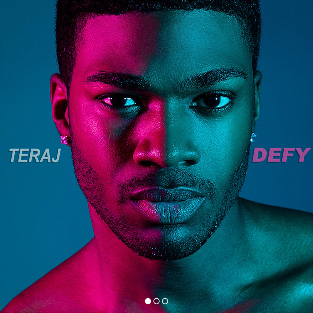 - Monday, April 9, 2018: New York, NY – TERAJ will release his highly anticipated debut EP DEFY, Pt. 1 on April 27, 2018. Pre-orders available on iTunes and Google Play starting April 15th!http://itunes.apple.com/album/id1369256165?ls=1&app=itunesProduced by Danny Bobby, Vezzo and Teraj, himself, DEFY, Pt. 1 is a fusion of Pop, R&B, and EDM that showcases Teraj's soulful voice, songwriting chops and the creation of his own unique and refreshing sound.