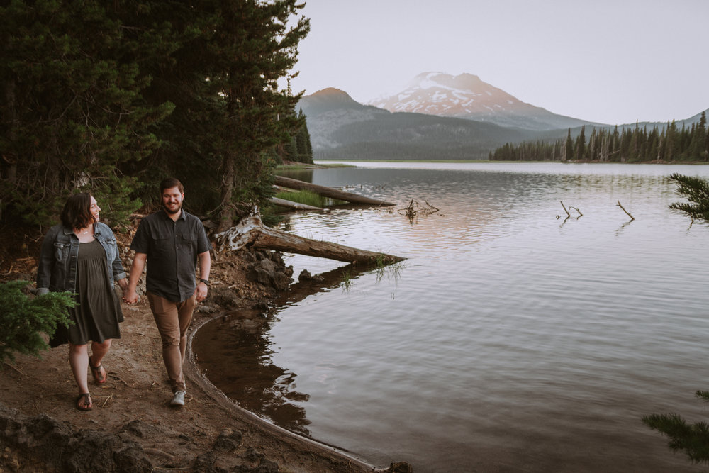Sparks Lake, OR//Roya & Steven - Couples