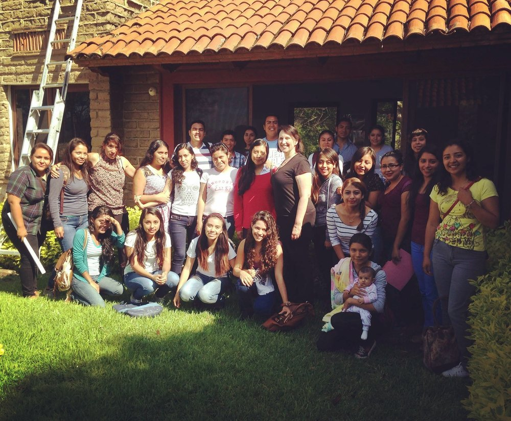 Last Summer with the UAEM students in Mexico. Photo by Dayamudra Ann Dennehy