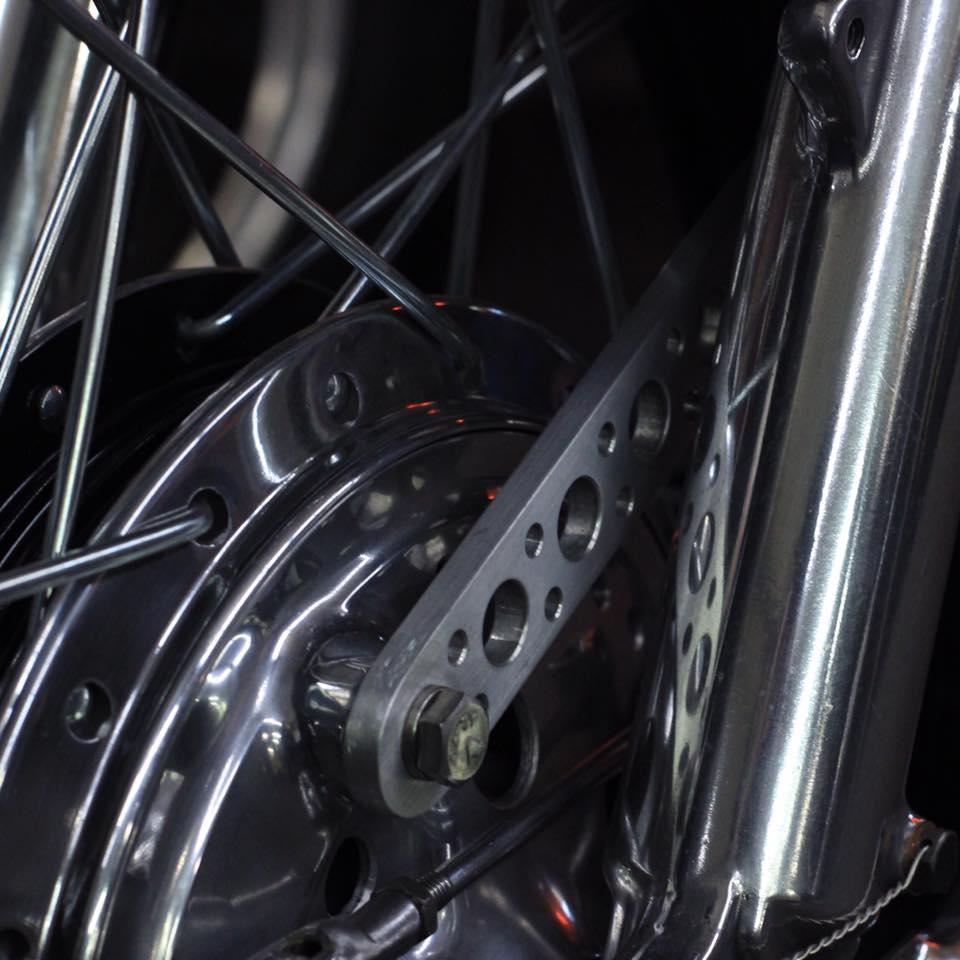Speedy Siegl Racing Honda CB350 CL350 SL350 front brake control arm
