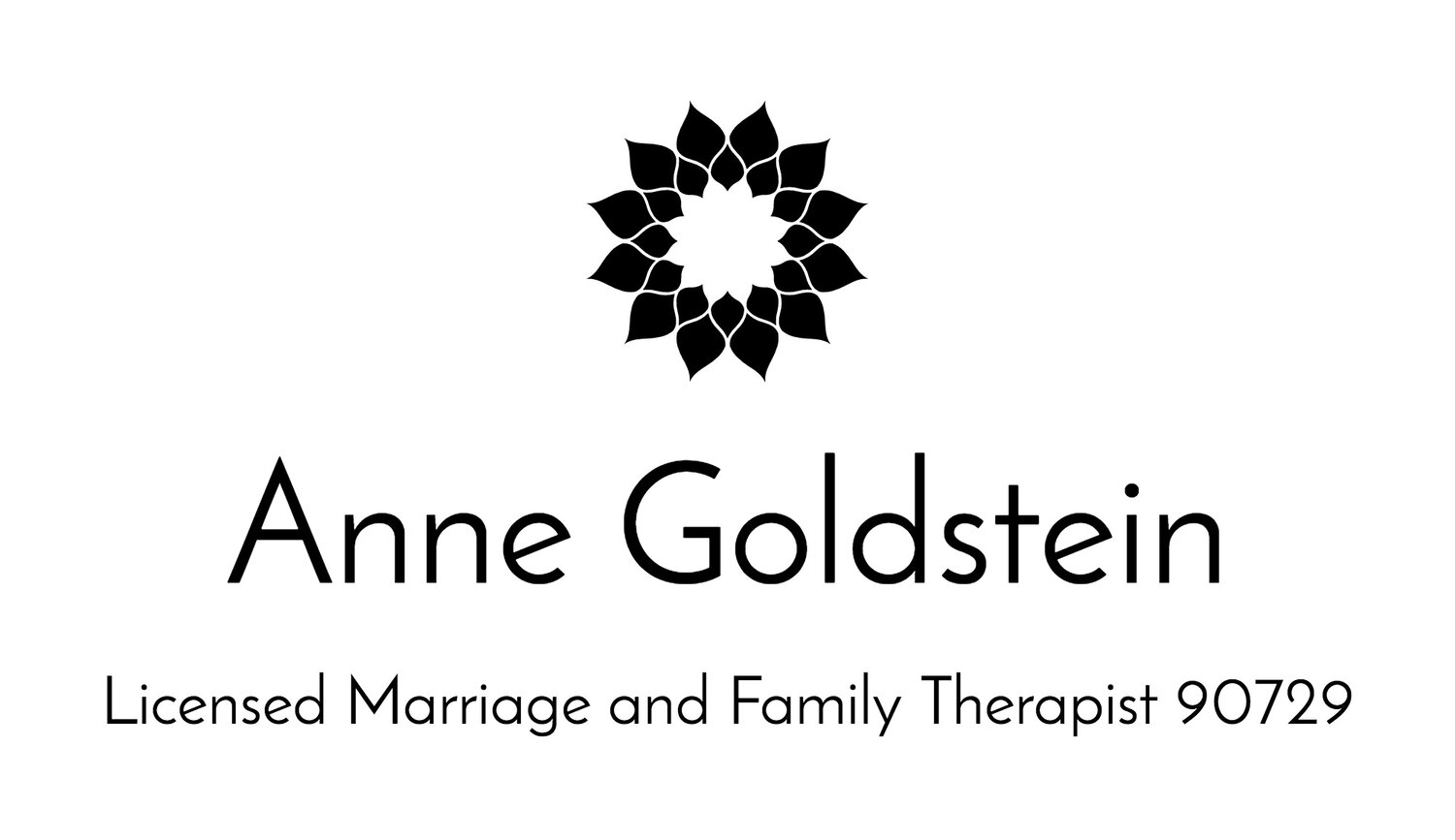 Annie Goldstein,  Licensed Marriage and Family Therapist 90729