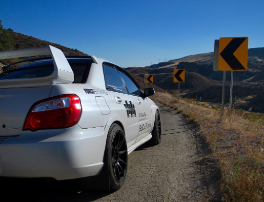 2007 Subaru wrx sti  Auto X / Canyon carving Subaru STi built around handling alone.