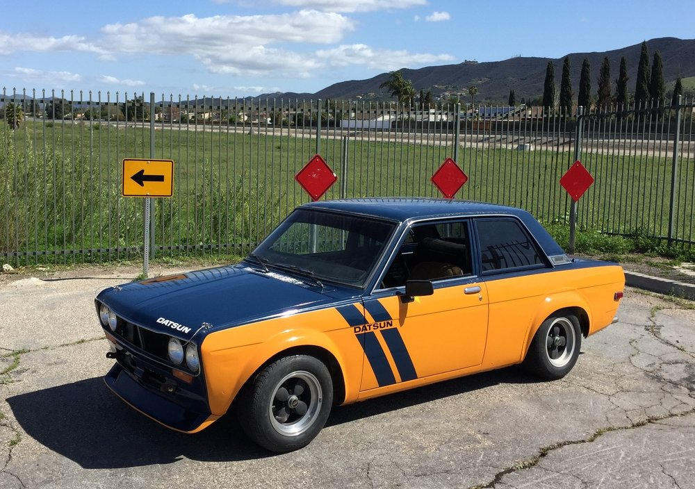 1972 datsun 510  One owner, all original classic revived after 20 years under a car cover.