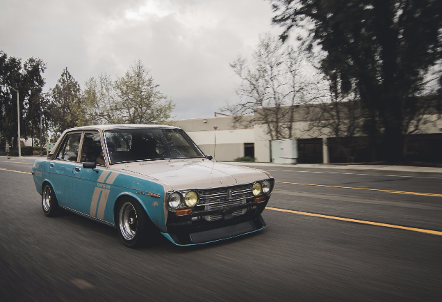 1969 Datsun 510  Ratsun styled Datsun 510 powered by a CA18DET.