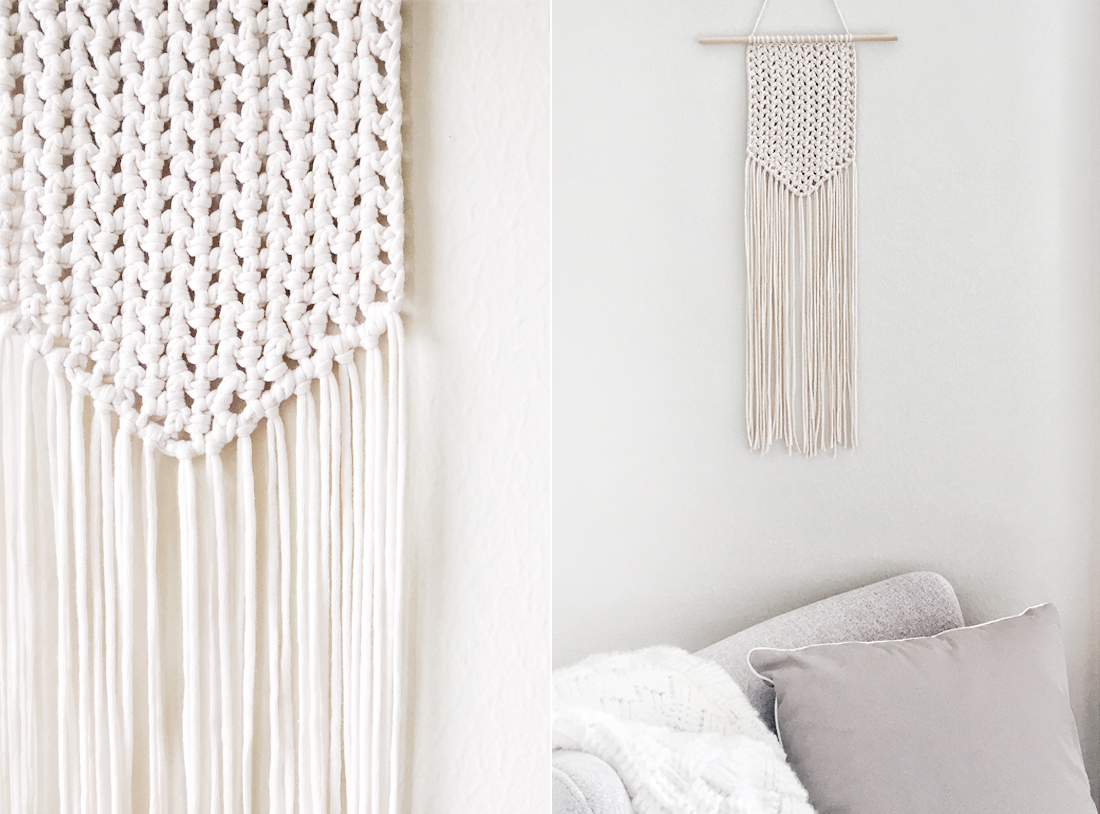 KOEL Stories | Knit A Therapy: DIY Crocheted Wall Hanging With Minimyarnism