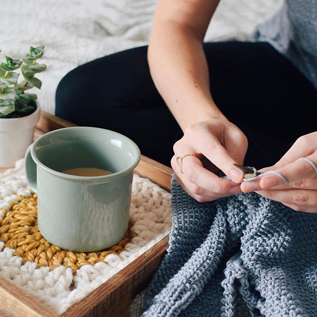 """Don't let insecure thoughts ruin something amazing."" – Like many, @bundlehandmade struggled with feelings of inadequacy when she first started out as a professional crafter. Find out how she overcame such feelings at koel-stories.com."