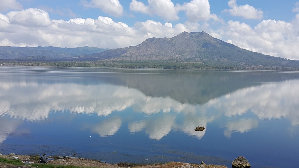 Ancient Mt Batur cater lake remains a top attraction in Bali tourism.