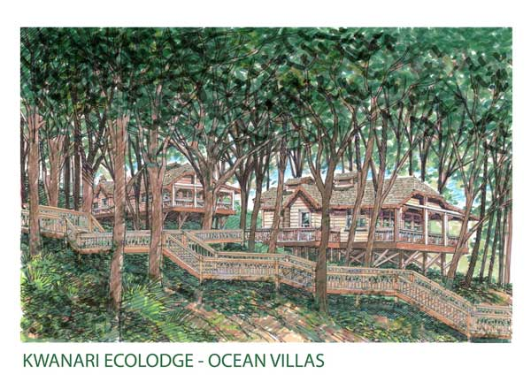 Hitesh' recent project - Kwanari Ecolodge in the Caribbeans.