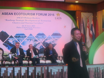 Masaru Takayama: Asean Ecotourism Network is becoming the window for Asia in ecotourism.