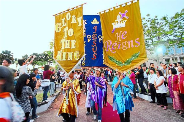 Miri City Christmas Parade (PC: The Star Online)