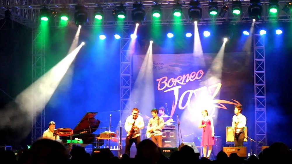 Borneo Jazz Festival (PC: YouTube)
