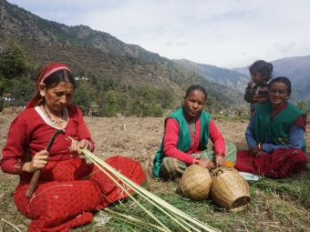 Restoring the age-old craft of Ringal weaving (Pic courtesy: Village Ways)