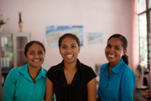 Women from Ai-Funan, a social enterprise in Timor-Leste.