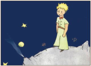 The Little Prince finds himself on a strange, bare, remote planet