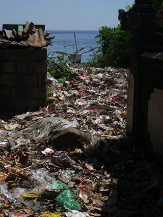 Bali's distressing waste problem (Image by Peduli Alam)