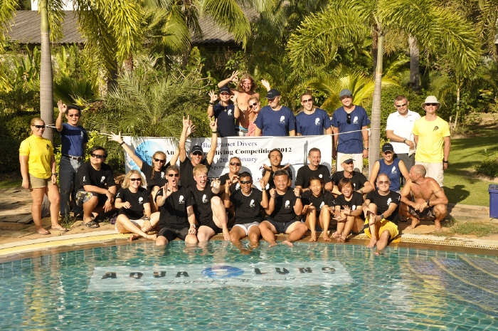 Everyone's a winner at the Andaman Freediving Challenge 2012 held on Koh Lanta, Thailand.