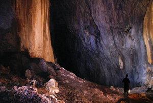 Blue chamber at Batu Raja.