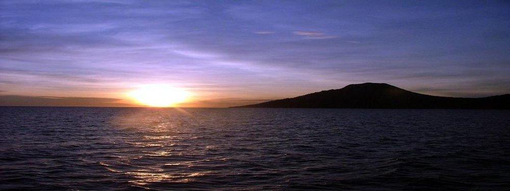 Sunrise in Camiguin.