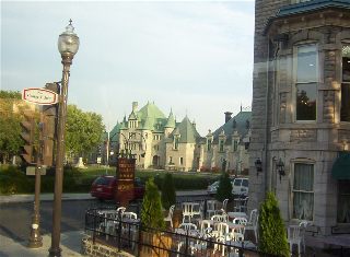 Quebec Gothic buildings
