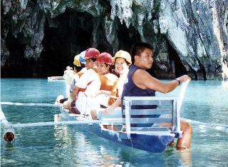 St Paul subterranean underground river