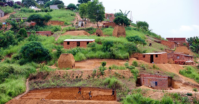 Mbanza Kongo, Vestiges of the Capital of the former Kingdom of Kong (Angola) © INP