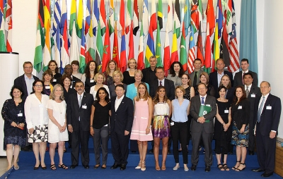 Global Leaders met at UNWTO Headquarters to discuss measures to fight against child sexual exploitation in tourism.